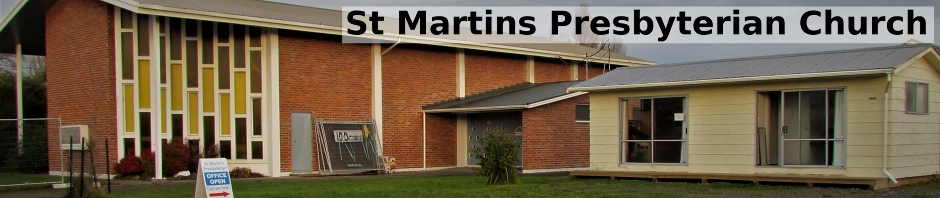 St Martins Presbyterian Church